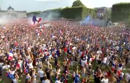 """""""ฝรั่งเศส"""" เฮคว้าแชมป์บอลโลก"""